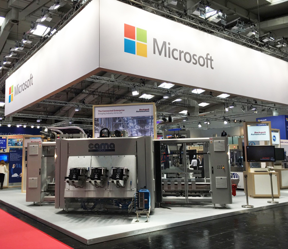 cama_on_microsoft_stand_hannover_messe_2