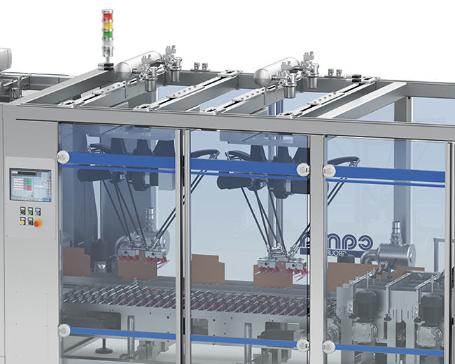 Packaging Line for soft Pouches