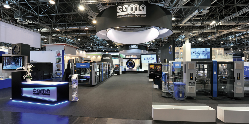 Cama World-Premiere at Interpack 2014