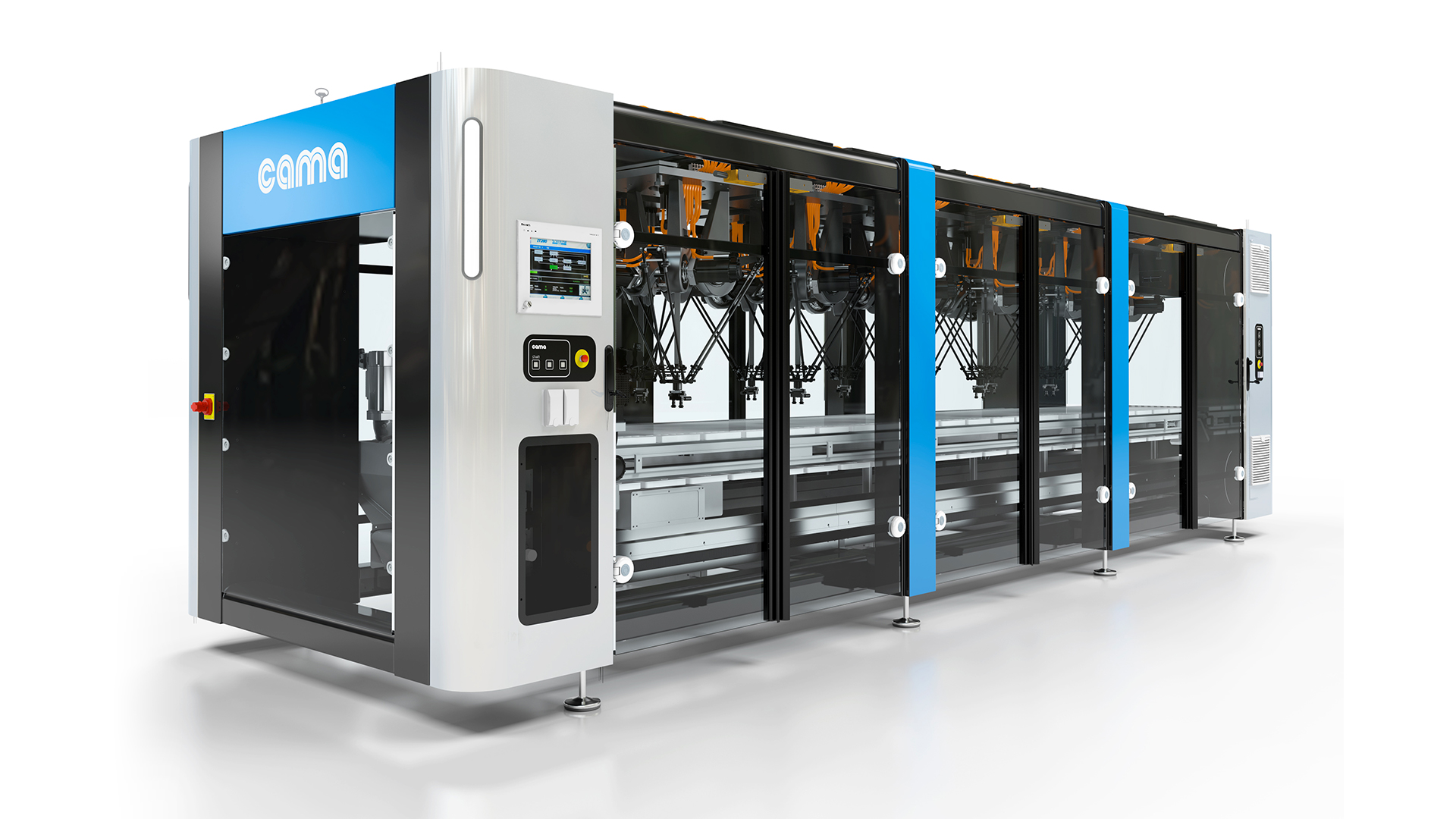 Cama Group and the Break-Through Generation Machines at Fachpack 2015 in Nuremberg, Germany