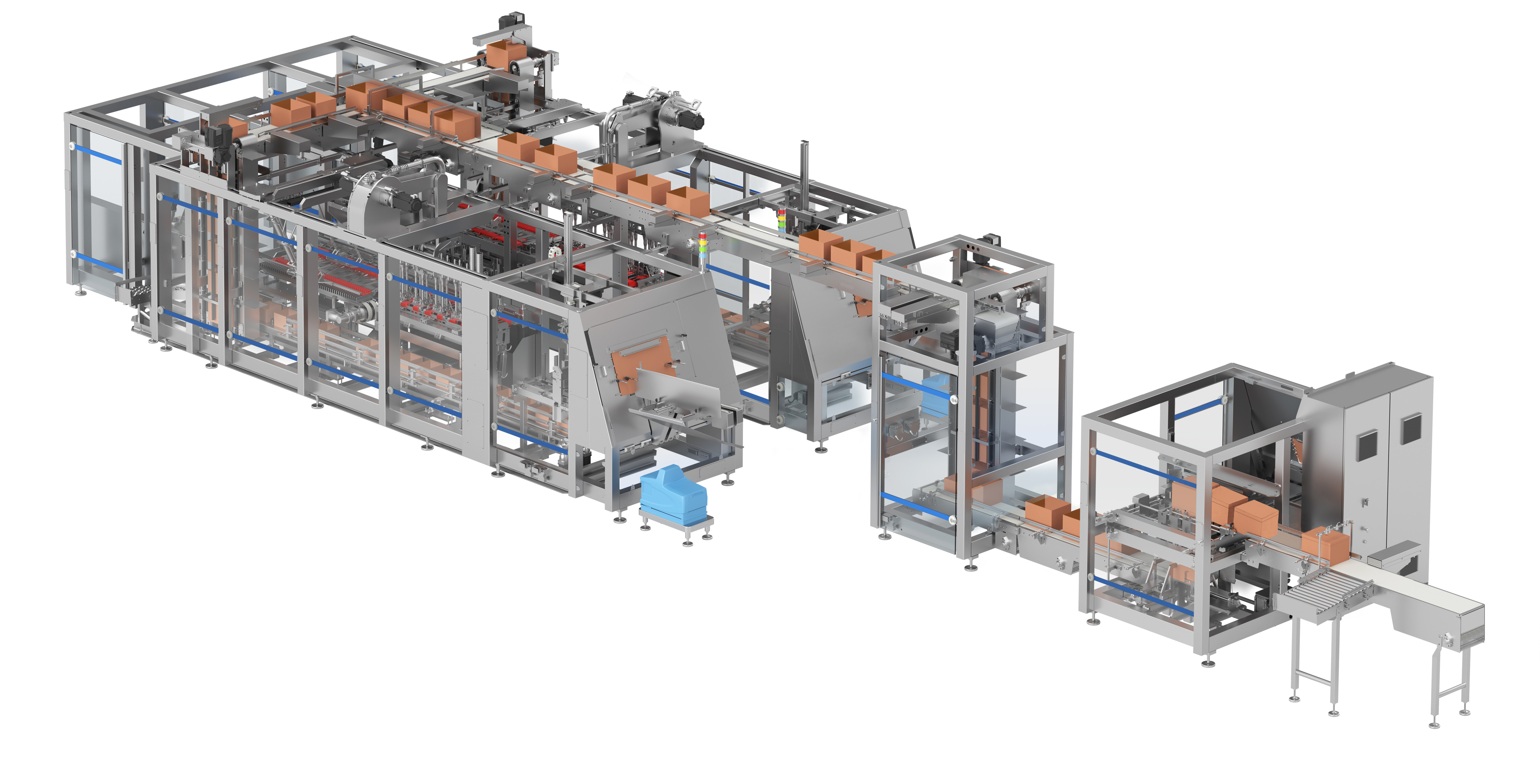 Wafer Packaging Line: systems integration